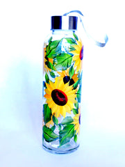 Sunflowers Water Bottle