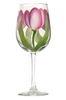 Pink & Cream Tulips - Wineflowers