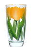 Yellow Tulips Tumbler - Wineflowers
