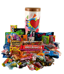 80's Retro I Love Candy Time Capsule