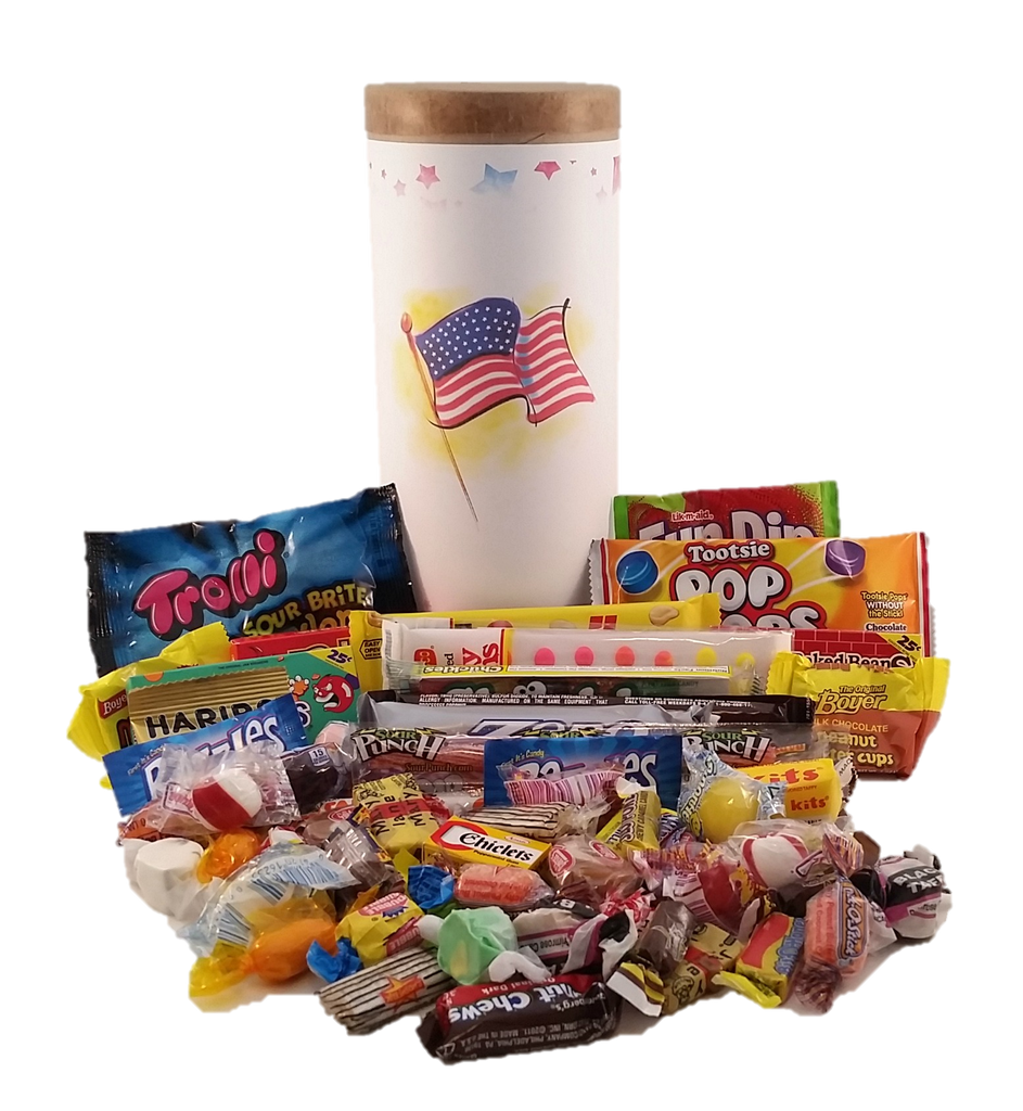 Stars & Stripes Candy Capsule