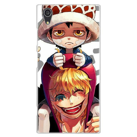 Coque One Piece Sony Law & Corazon