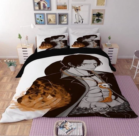 Housse de Couette One Piece Portgas D. Ace