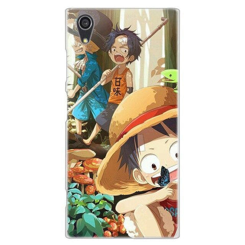 Coque One Piece Sony Sabo, Luffy & Ace