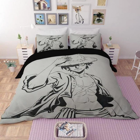 Housse de Couette One Piece Luffy