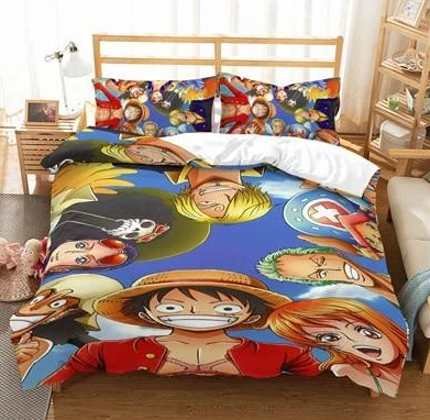 Housse de Couette One Piece Mugiwara