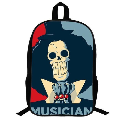 Sac One Piece Musicien Brook