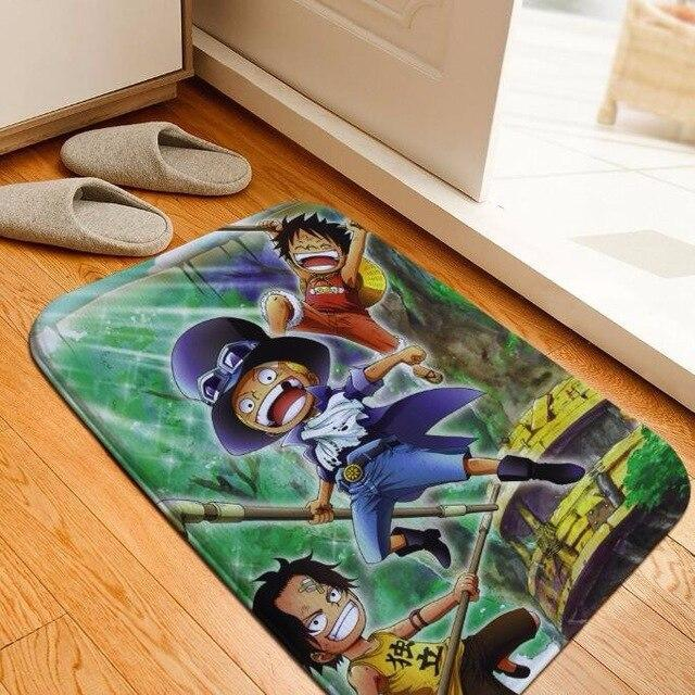 Tapis One Piece Sabo Luffy et Ace