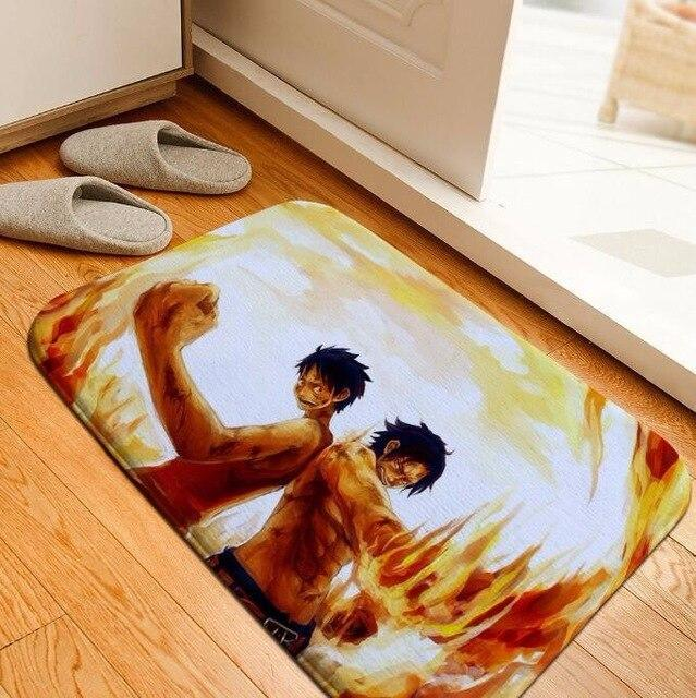 Tapis One Piece Luffy et Ace