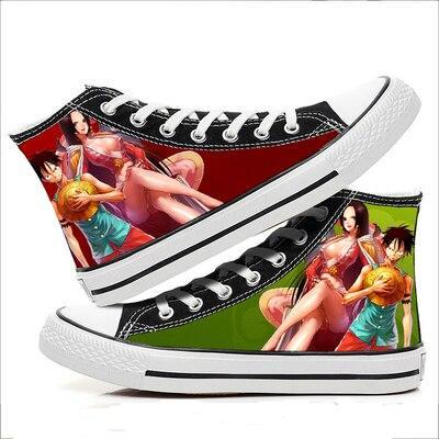 Chaussure One Piece Luffy & Boa