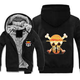 Veste Polaire One Piece Drapeau Pirates