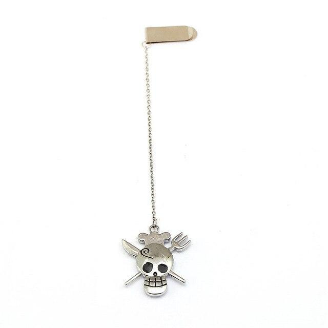 Marque-Page One Piece Jolly Roger Sanji
