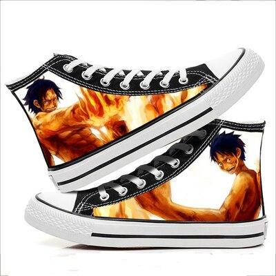 Chaussure One Piece Luffy & Ace