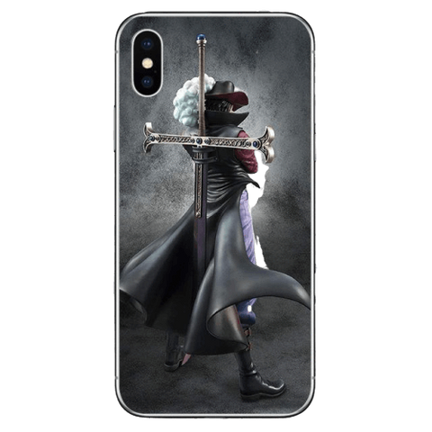 Coque One Piece iPhone Mihawk
