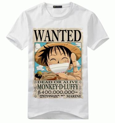 T-Shirt One Piece WANTED Monkey D. Luffy