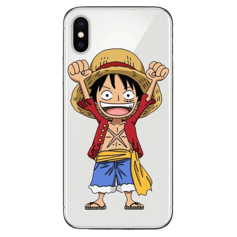 Coque One Piece iPhone Mini Luffy