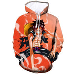 Sweat One Piece Luffy Cartoon