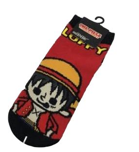Chaussettes One Piece Monkey D. Luffy