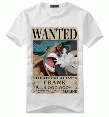 T-Shirt One Piece WANTED Franky
