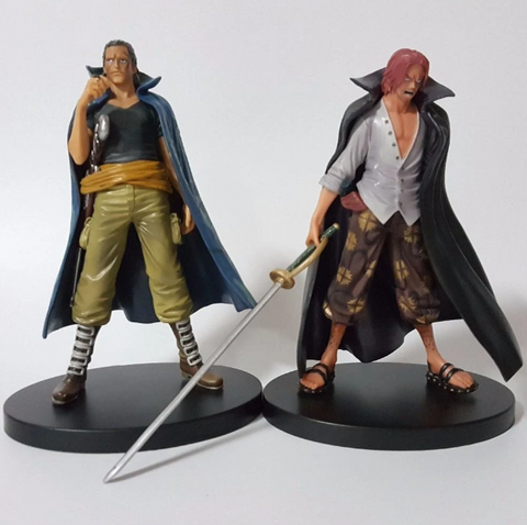 Figurine One Piece Shanks & Ben Beckmann (18cm)
