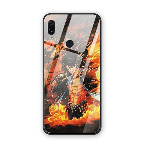 Coque One Piece iPhone Ace (Verre Trempé)