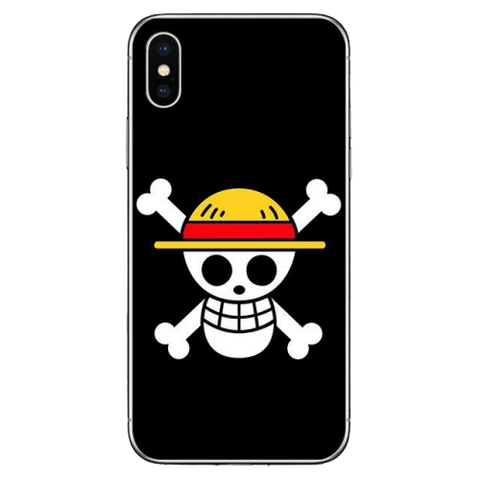 Coque One Piece iPhone Jolly Roger