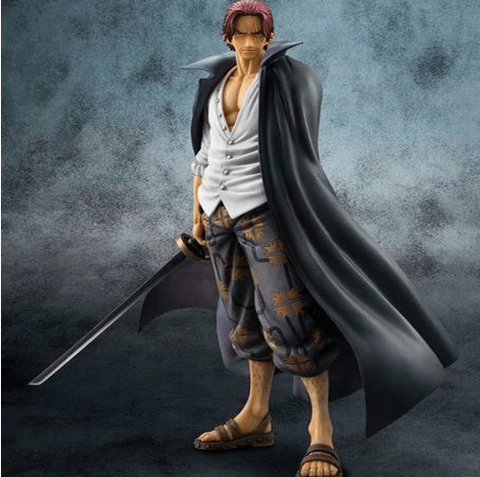 Figurine Articulée One Piece Shanks (25cm)
