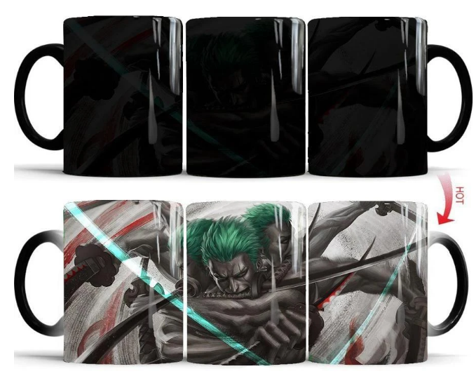 Mug Thermosensible One Piece Roronoa Zoro