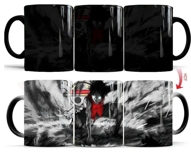 Mug Thermosensible One Piece Gear