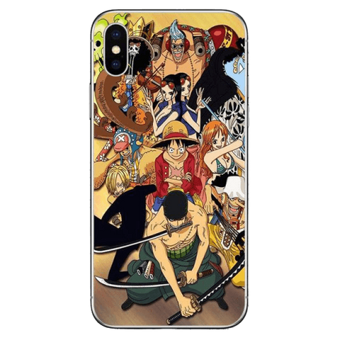 Coque One Piece iPhone Équipage du Chapeau de Paille