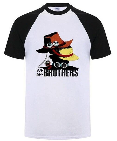 T-Shirt One Piece Les Frères Luffy & Ace