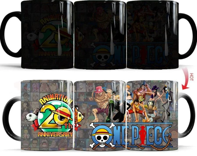 Mug Thermosensible One Piece Anniversaire