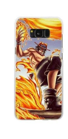 Coque One Piece Samsung Mera Mera no Mi