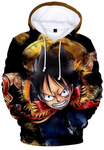 Sweat One Piece Capitaine Luffy