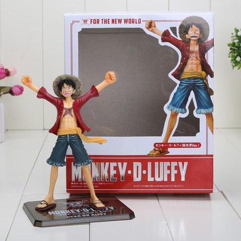 Figurine One Piece Luffy Edition Nouveau Monde