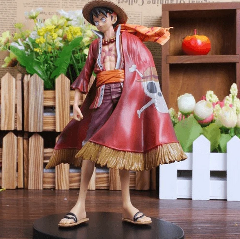 Figurine One Piece Capitaine Luffy (17cm)