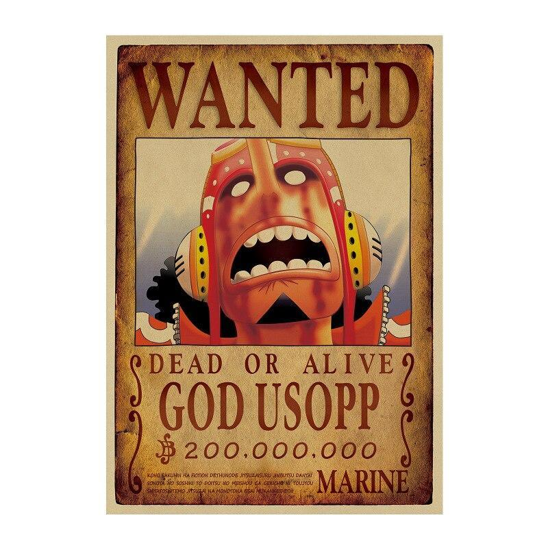 Poster One Piece Wanted Usopp