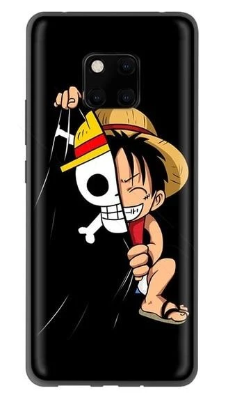 Coque One Piece Huawei Capitaine Luffy