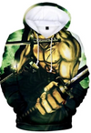 Sweat One Piece Zoro Tiger Slash