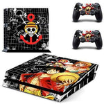 Stickers PS4 One Piece Luffy & Nami & Chopper