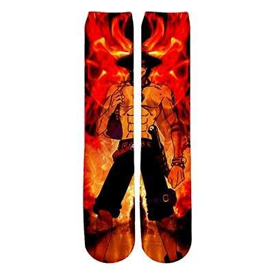 Chaussettes One Piece Ace au Poing Ardent