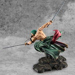 Figurine one piece zoro combat (18 cm)