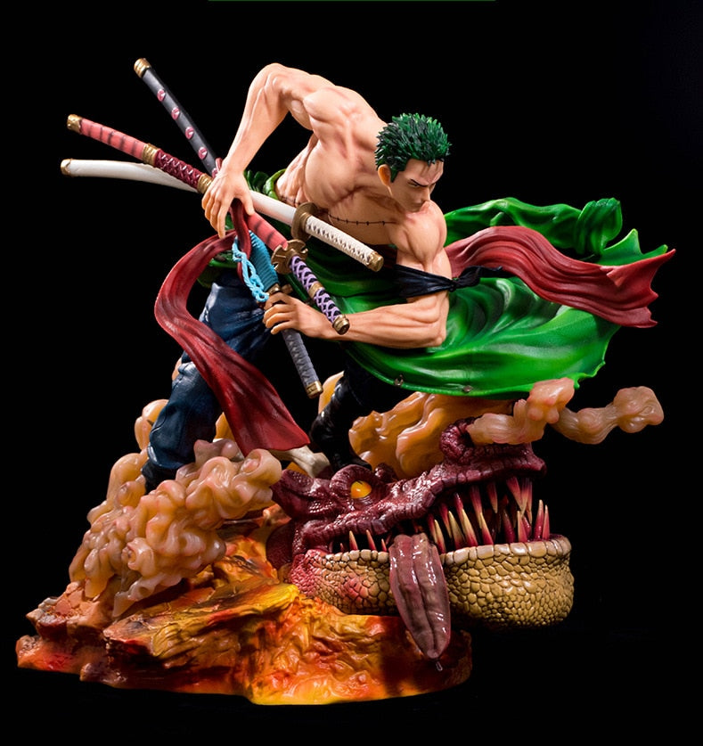 Figurine collector One Piece Roronoa Zoro (42 cm)