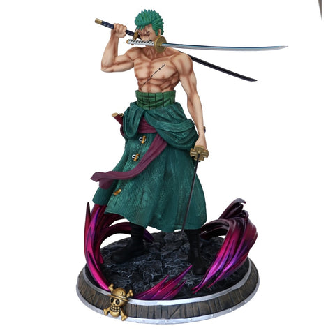 Figurine collector One piece Zoro (37 cm)