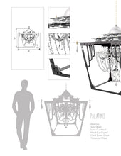 Palatino Outdoor Chandelier