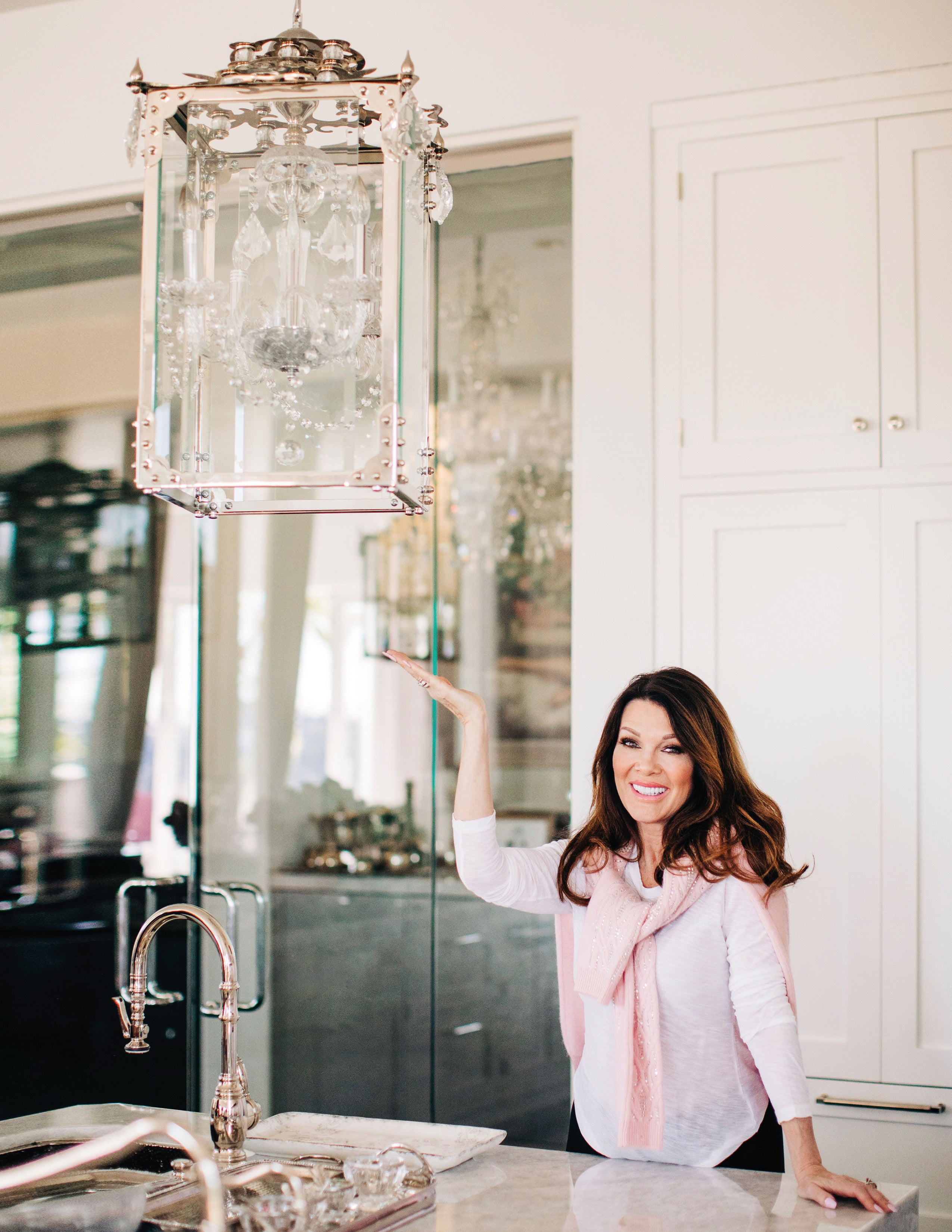 Vanderpump Chandelier Nickle