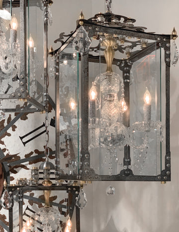 Vanderpump Chandelier Black