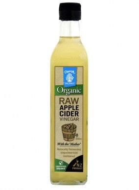Raw Organic 100% Apple Cider Vinegar