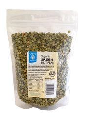 Organic NZ Green Split Peas
