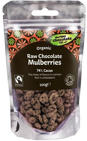 Raw Organic Chocolate Mulberries